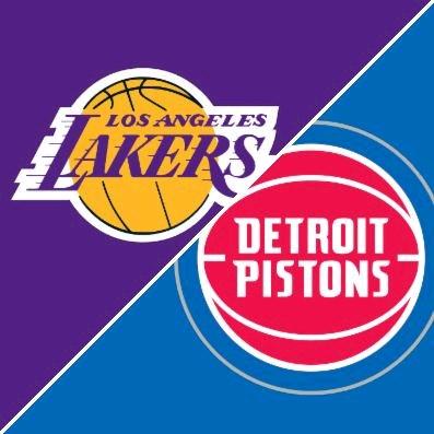 LA Lakers v Detroit Pistons by Lakefront Lines Tol