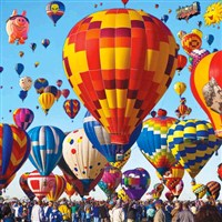 Albuquerque Balloon Fiesta by Lenzner Tours