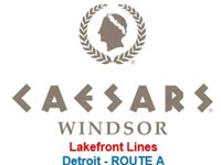 Caesars Windsor Detroit ROUTE A - Lakefront Toledo