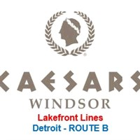 Caesars Windsor Detroit ROUTE B - Lakefront Toledo