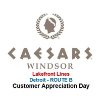 CAD Caesars Windsor Detroit ROUTE B - LFL Toledo