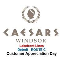 CAD Caesars Windsor Detroit ROUTE C - LFL Toledo