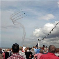 Cleveland National Air Show by Lenzner Tours