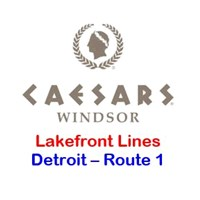 Caesars Windsor Detroit Route 1 - Lakefront Toledo