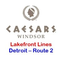 Caesars Windsor Detroit Route 2 - Lakefront Toledo