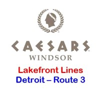 Caesars Windsor Detroit Route 3 - Lakefront Toledo