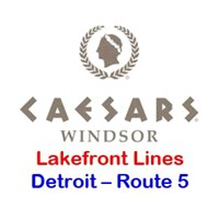Caesars Windsor Detroit Route 5 - Lakefront Toledo