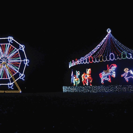 Oglebay Park Festival of Lights by Butler Tours