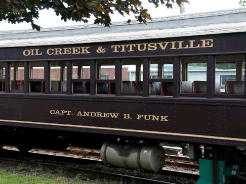 Titusville Railroad by Butler Motor Tours