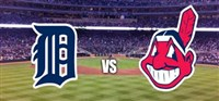 Detroit Tigers vs Cleveland Indians Baseball Game