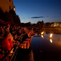 WaterFire Sharon by Lenzner Tours
